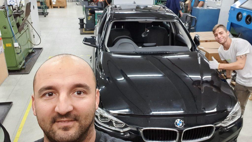 BMW szélvédő ára